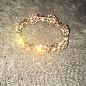 Brown Diamond Bracelet (Faux)